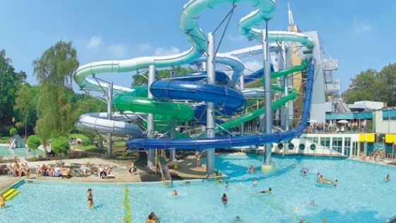 One of Europes Largest Water Parks at Duinrell