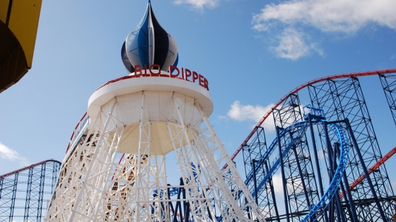 The Big Dipper - Blackpool Pleasure Beach