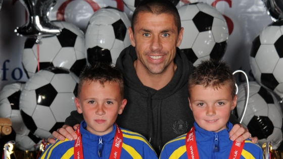 Kevin Phillips at R&T Tours Blackpool