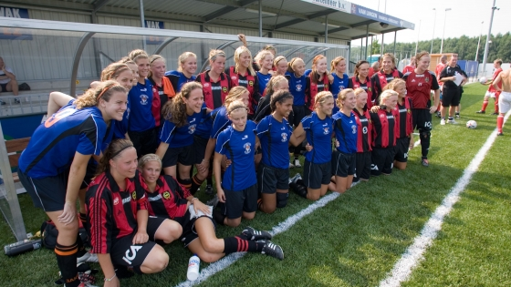 Girls football in France with R&T Tours tournaments
