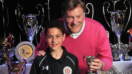 Glen Hoddle at R&T Tours Weymouth