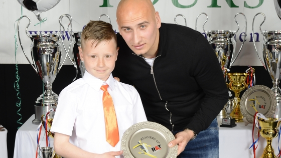 Jonjo Shelvey at R&T Tours Haggerston