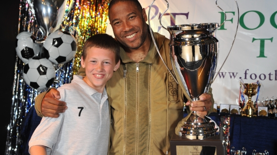 John Barnes at R&T Tours Brixham