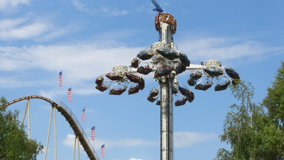 Dare you ride The Eagle?