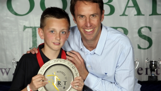 Gareth Southgate at R&T Tours Cleethorpes