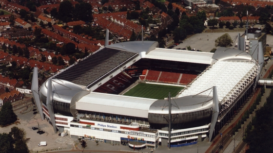 Enhance your tour with a visit to Eindhoeven PSV Stadium