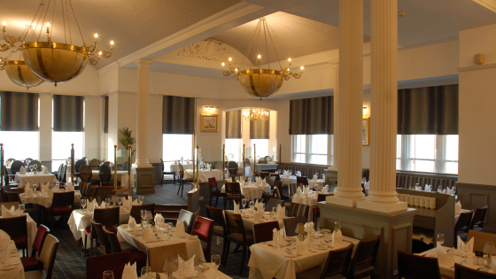 Palm Court Restaurant Imperial Hotel