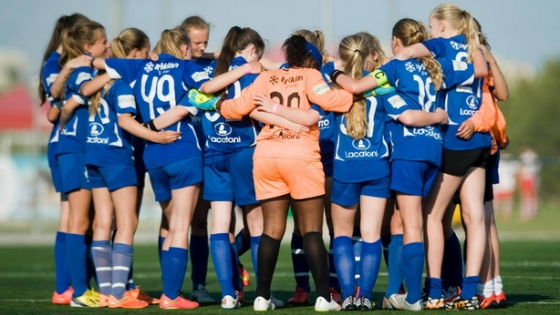 European football tournaments for girls