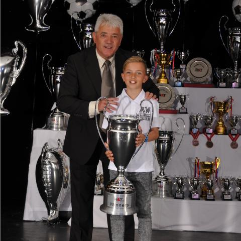 Kevin Keegan at R&T Tours Presentation